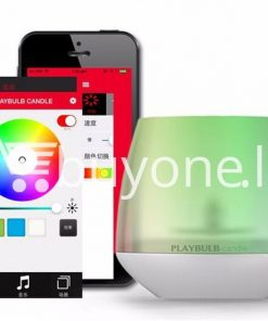 wireless smart led playbulb electric candle night light for iphone htc samsung home and kitchen special best offer buy one lk sri lanka 72412 247x296 - Wireless Smart LED Playbulb Electric Candle night light For iPhone, HTC, Samsung