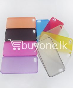 ultra thin translucent slim soft iphone case for iphone 5 5s mobile phone accessories special best offer buy one lk sri lanka 06258 247x296 - Ultra thin Translucent Slim Soft iPhone case for iPhone 5 & 5S