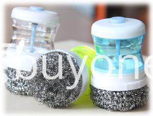 automatic steel wire ball pressure washing cleaning brush home and kitchen special best offer buy one lk sri lanka 35360 - Automatic Steel Wire Ball Pressure Washing Cleaning Brush