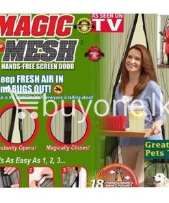 magnetic magic mesh–hands free screen door as seen on tv avurudu best deals offers send gifts sri lanka buy one lk 247x296 - Magnetic Magic Mesh – Hands Free Screen Door As Seen On TV