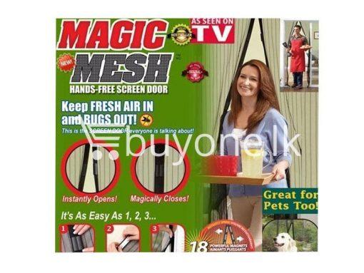 magnetic magic mesh–hands free screen door as seen on tv avurudu best deals offers send gifts sri lanka buy one lk 510x383 - Magnetic Magic Mesh – Hands Free Screen Door As Seen On TV
