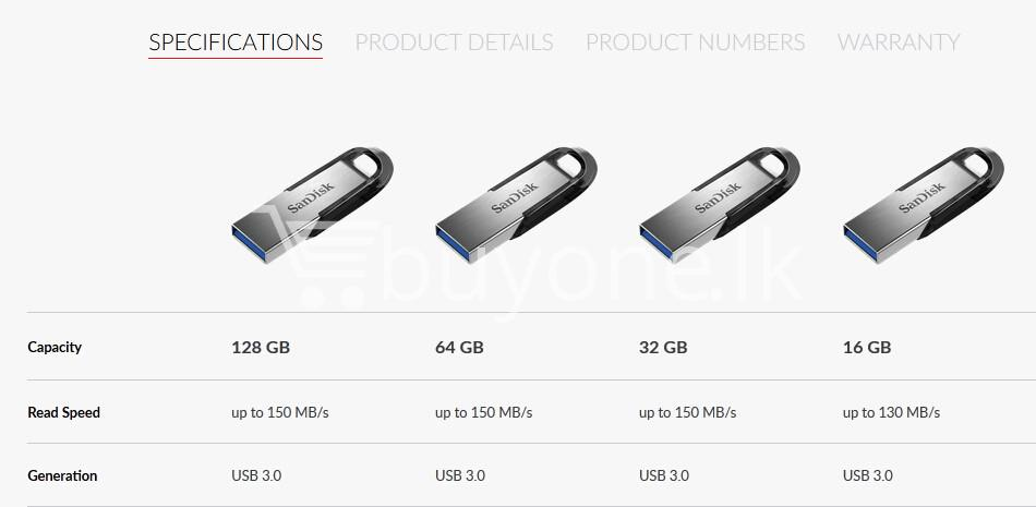 100 genuine original 16gb sandisk ultra flair usb 3.0 flash drive with warranty computer accessories special best offer buy one lk sri lanka 69593 1 - 128GB SanDisk Ultra Flair USB 3.0 Flash Drive with Warranty