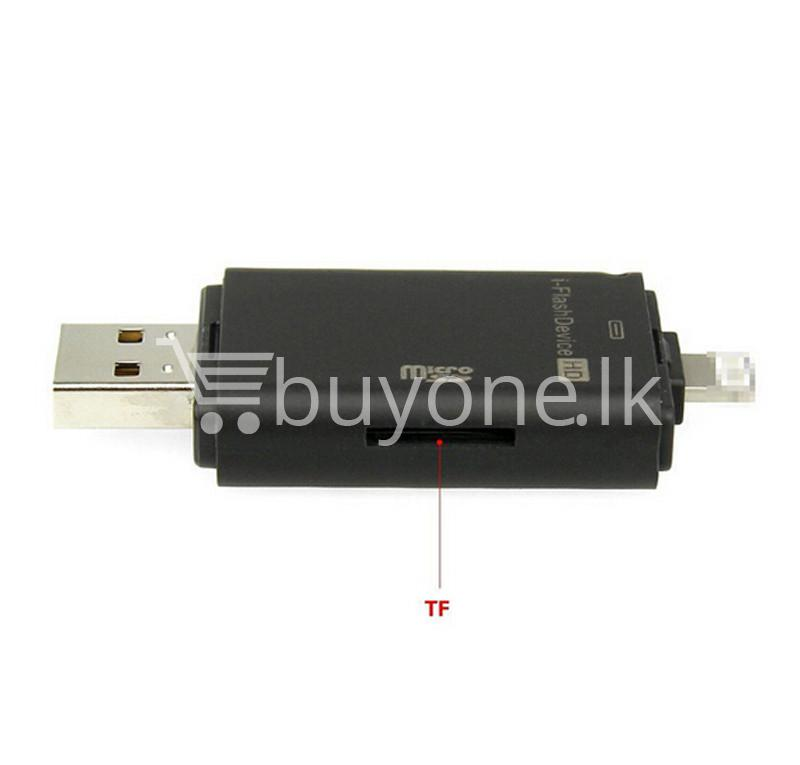 2016 new usb i flash drive and memory card reader for iphone 5 5s 6 6s 6 plus mobile store special best offer buy one lk sri lanka 68452 - 2016 New USB i-Flash Drive and Memory Card Reader For iPhone 5 5S 6 6S 6 plus