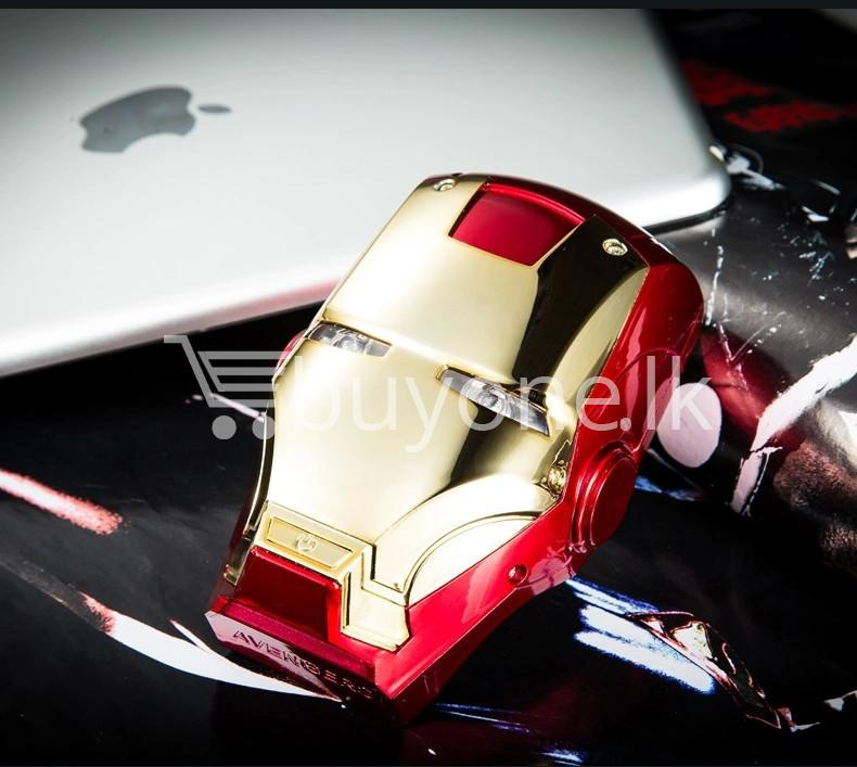 newest iron man portable power bank 6000mah for iphone samsung htc nokia oneplus mobile store special best offer buy one lk sri lanka 06540 - Newest Iron Man Portable Power Bank 6000mAh for iPhone, Samsung, HTC, Nokia, OnePlus