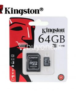 64gb kingston micro sd card tf class10 memory card with warranty mobile phone accessories special best offer buy one lk sri lanka 24037 247x296 - 64GB Kingston Micro SD Card TF Class10 Memory Card with Warranty