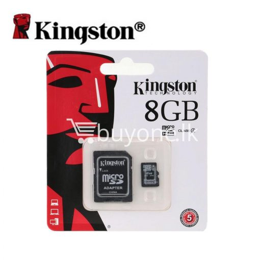 8gb kingston micro sd card memory card with adapter mobile phone accessories special best offer buy one lk sri lanka 24546 510x510 - 8GB Kingston Micro SD Card Memory Card with Adapter