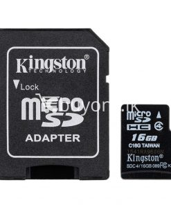 8gb kingston micro sd card memory card with adapter mobile phone accessories special best offer buy one lk sri lanka 24547 247x296 - 8GB Kingston Micro SD Card Memory Card with Adapter