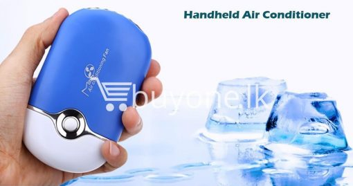 new portable fashion mini fan air conditioning fan home and kitchen special best offer buy one lk sri lanka 93835 510x269 - New Portable Fashion Mini Fan Air Conditioning Fan