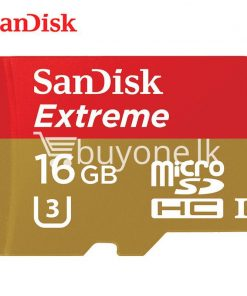 original 16gb sandisk extreme microsdhc uhs i memory card with adapter camera store special best offer buy one lk sri lanka 83816 247x296 - Original 16GB Sandisk Extreme microSDHC UHS-I Memory Card With Adapter