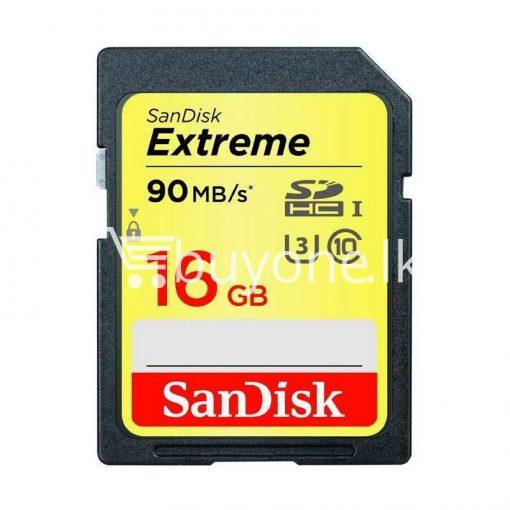 original genuine 16gb sandisk extreme sdhc uhs i sd memory card for cameras camera store special best offer buy one lk sri lanka 84207 510x510 - Original Genuine 16GB SanDisk Extreme SDHC UHS-I SD Memory Card For Cameras