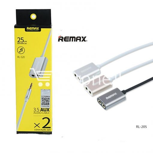 original remax 3.5mm aux cable plug audio wire jack mobile phone accessories special best offer buy one lk sri lanka 25928 510x510 - Original Remax 3.5mm AUX Cable Plug Audio Wire Jack