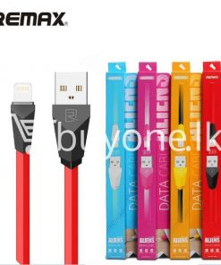 original remax alien series mobile phone cable fast charging data sync cable mobile phone accessories special best offer buy one lk sri lanka 24966 247x296 - Original Remax Alien Series Mobile Phone Cable Fast Charging Data Sync Cable