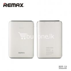 original remax tiger rpp 33 5000mah portable dual usb power bank mini external battery mobile phone accessories special best offer buy one lk sri lanka 25463 247x247 - Original Remax Tiger RPP-33 5000mAh Portable Dual USB Power Bank Mini External Battery