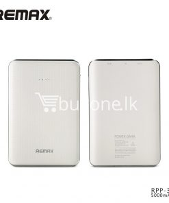 original remax tiger rpp 33 5000mah portable dual usb power bank mini external battery mobile phone accessories special best offer buy one lk sri lanka 25463 247x296 - Original Remax Tiger RPP-33 5000mAh Portable Dual USB Power Bank Mini External Battery
