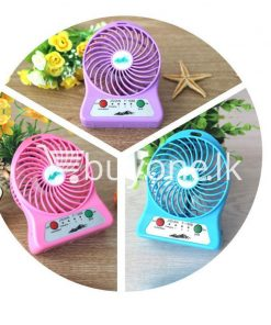 portable usb mini fan home and kitchen special best offer buy one lk sri lanka 93239 247x296 - Portable USB Mini Fan