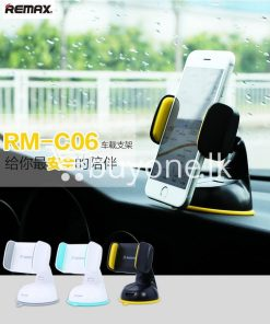 remax car mount holder with stand windshield 360 degree rotating mobile phone accessories special best offer buy one lk sri lanka 21676 247x296 - Remax Car Mount Holder with Stand Windshield 360 Degree Rotating