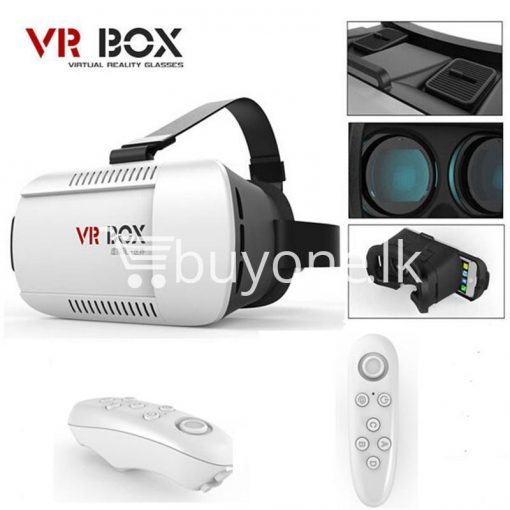 vr box virtual reality 3d glasses with bluetooth wireless remote mobile phone accessories special best offer buy one lk sri lanka 56509 510x510 - VR BOX Virtual Reality 3D Glasses with Bluetooth Wireless Remote