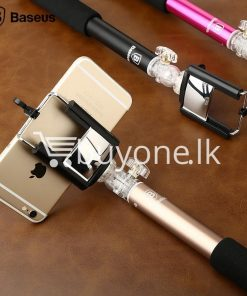 baseus stable series handheld extendable selfie stick with selfie remote mobile store special best offer buy one lk sri lanka 46181 247x296 - Baseus Stable Series Handheld Extendable Selfie Stick with Selfie Remote