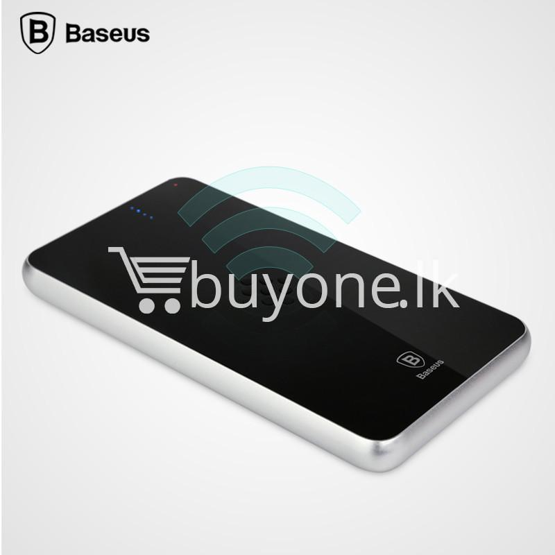 BASEUS Wireless Charging Base with Fast Charger Power Bank 5000mAh For  iPhone Samsung HTC MI Mobile Phones