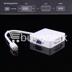 mini 3 in1 display port to hdmi vga dvi converter adapter for apple macbook imac hdmi digital cables computer store special best offer buy one lk sri lanka 65805 247x247 - Mini 3 in1 Display Port to HDMI VGA DVI Converter Adapter for Apple MacBook iMac HDMI Digital Cables