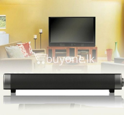 music apollo wireless slim soundbar hifi box bluetooth subwoofer boombox speaker for tv pc electronics special best offer buy one lk sri lanka 88579 510x473 - Music Apollo Wireless Slim Soundbar HIFI Box Bluetooth Subwoofer Boombox Speaker FOR TV PC
