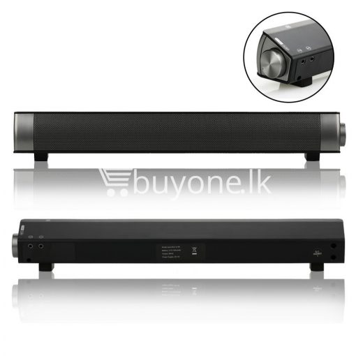music apollo wireless slim soundbar hifi box bluetooth subwoofer boombox speaker for tv pc electronics special best offer buy one lk sri lanka 88583 510x510 - Music Apollo Wireless Slim Soundbar HIFI Box Bluetooth Subwoofer Boombox Speaker FOR TV PC