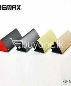 new original remax bluetooth aluminum alloy metal speaker computer accessories special best offer buy one lk sri lanka 56957 247x296 - New Original Remax Bluetooth Aluminum Alloy Metal Speaker