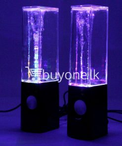 new usb water dancing fountain stereo music speakers computer accessories special best offer buy one lk sri lanka 13564 247x296 - New USB Water Dancing Fountain Stereo Music Speakers