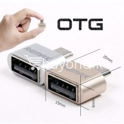 original remax otg plug usb to micro usb mini for android mobile phone mobile phone accessories special best offer buy one lk sri lanka 59219 247x247 - Original Remax OTG Plug USB to Micro USB Mini For Android Mobile Phone
