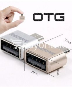 original remax otg plug usb to micro usb mini for android mobile phone mobile phone accessories special best offer buy one lk sri lanka 59219 247x296 - Original Remax OTG Plug USB to Micro USB Mini For Android Mobile Phone