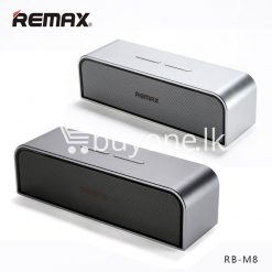 remax rb m8 portable aluminum wireless bluetooth 4.0 speakers with clear bass computer accessories special best offer buy one lk sri lanka 57636 247x247 - REMAX RB-M8 Portable Aluminum Wireless Bluetooth 4.0 Speakers with Clear Bass