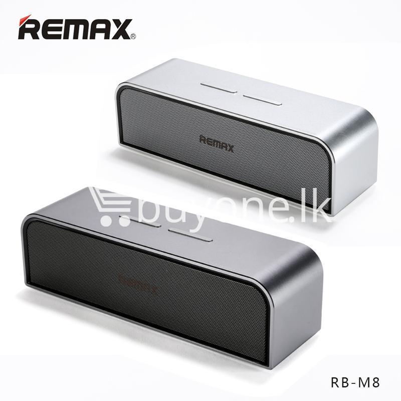 1c5f6457965 remax rb m8 portable aluminum wireless bluetooth 4.0 speakers with clear  bass computer accessories special best