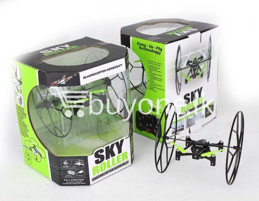 sky roller 2.4g quadcopter aerocraft remote control drone baby care toys special best offer buy one lk sri lanka 53914 510x396 - Sky Roller 2.4G Quadcopter Aerocraft Remote Control Drone