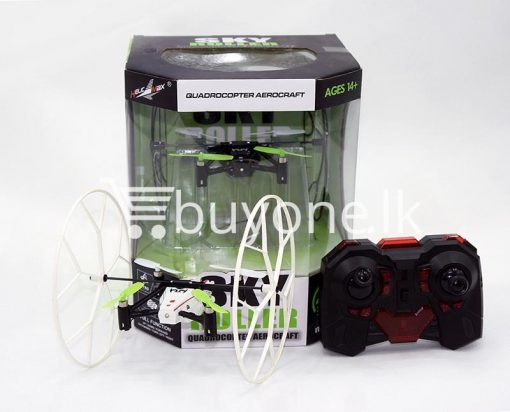 sky roller 2.4g quadcopter aerocraft remote control drone baby care toys special best offer buy one lk sri lanka 53915 510x412 - Sky Roller 2.4G Quadcopter Aerocraft Remote Control Drone