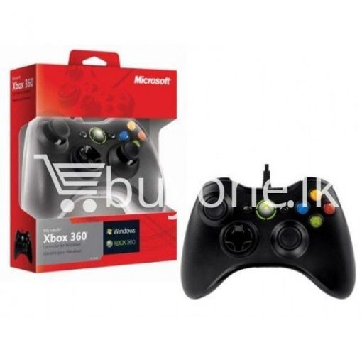 xbox 360 wired controller joystick computer accessories special best offer buy one lk sri lanka 91414 510x510 - XBOX 360 Wired Controller Joystick