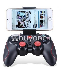 gen game s5 wireless bluetooth controller gamepad for ios android os phone tablet pc smart tv with holder special best offer buy one lk sri lanka 00566 247x296 - GEN GAME S5 Wireless Bluetooth Controller Gamepad For IOS Android OS Phone Tablet PC Smart TV With Holder