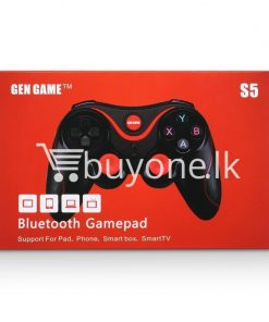 gen game s5 wireless bluetooth controller gamepad for ios android os phone tablet pc smart tv with holder special best offer buy one lk sri lanka 00567 247x296 - GEN GAME S5 Wireless Bluetooth Controller Gamepad For IOS Android OS Phone Tablet PC Smart TV With Holder