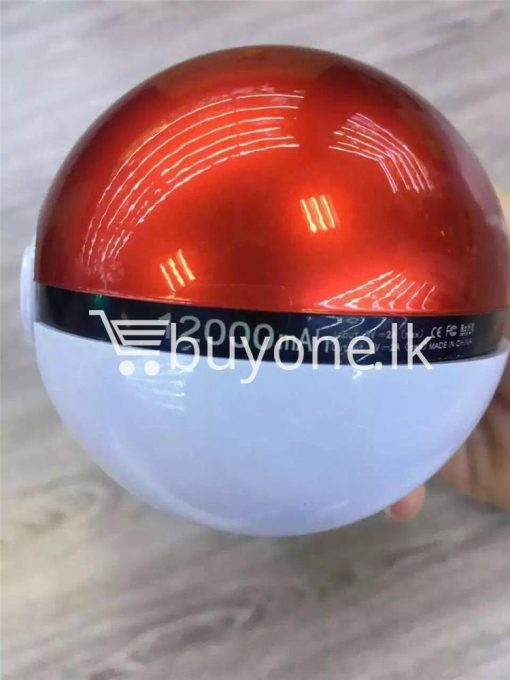 12000mah universal pokeball charger pokemons go power bank mobile phone accessories special best offer buy one lk sri lanka 98393 510x680 - 12000Mah Universal Pokeball Charger Pokemons Go Power bank