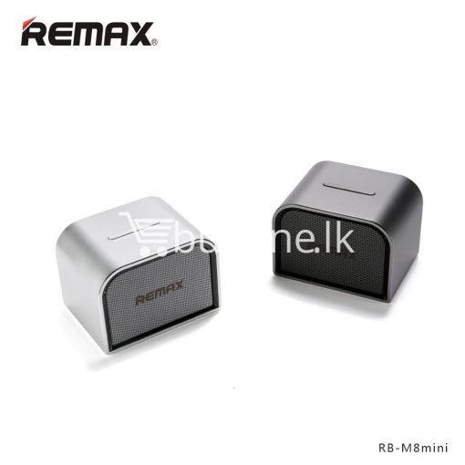 remax m8 mini desktop bluetooth 4.0 speaker deep bass aluminum mobile phone accessories special best offer buy one lk sri lanka 60108 510x510 - Remax M8 Mini Desktop Bluetooth 4.0 Speaker Deep Bass Aluminum