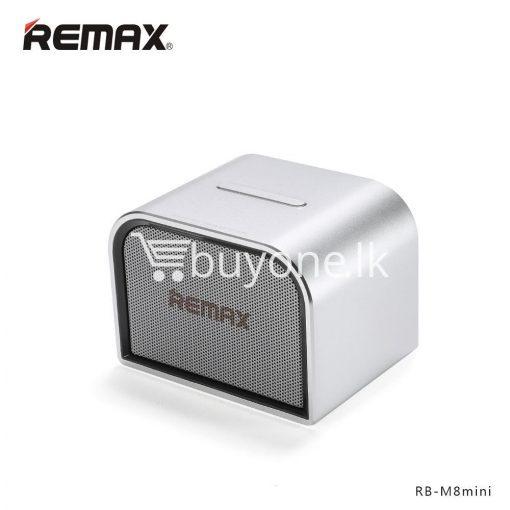 remax m8 mini desktop bluetooth 4.0 speaker deep bass aluminum mobile phone accessories special best offer buy one lk sri lanka 60109 510x510 - Remax M8 Mini Desktop Bluetooth 4.0 Speaker Deep Bass Aluminum