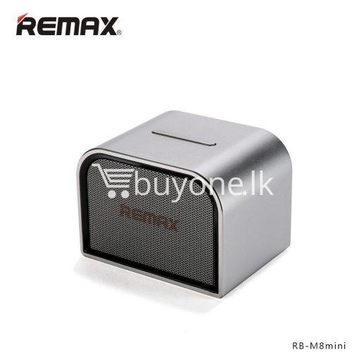 remax m8 mini desktop bluetooth 4.0 speaker deep bass aluminum mobile phone accessories special best offer buy one lk sri lanka 60111 510x510 - Remax M8 Mini Desktop Bluetooth 4.0 Speaker Deep Bass Aluminum