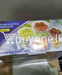 5pcs cooking bowl set home and kitchen special best offer buy one lk sri lanka 99698 247x296 - 5pcs cooking bowl Set