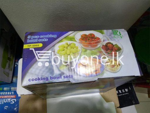 5pcs cooking bowl set home and kitchen special best offer buy one lk sri lanka 99698 510x383 - 5pcs cooking bowl Set