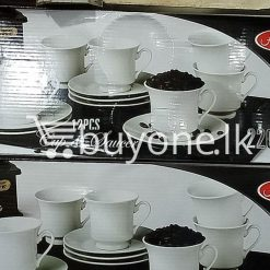 amilex 12pcs cup saucer 220cc home and kitchen special best offer buy one lk sri lanka 99459 247x247 - Amilex 12pcs Cup & Saucer 220cc