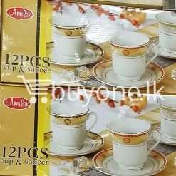 amilex 12pcs cup saucer home and kitchen special best offer buy one lk sri lanka 99460 247x247 - Amilex 12pcs Cup & Saucer