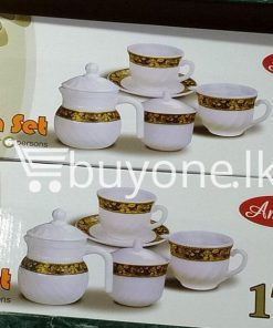 amilex 17pcs tea set service for 6 persons home and kitchen special best offer buy one lk sri lanka 99497 247x296 - Amilex 17pcs Tea Set Service For 6 Persons