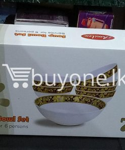 amilex 7pcs soup boul set service for 6 persons home and kitchen special best offer buy one lk sri lanka 99514 247x296 - Amilex 7pcs Soup Boul Set Service For 6 Persons