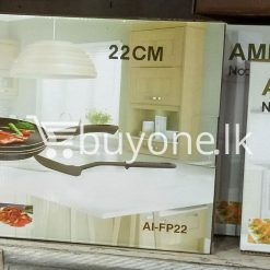 amilex non stick fry pan 22cm home and kitchen special best offer buy one lk sri lanka 99486 247x247 - Amilex Non Stick Fry Pan 22CM