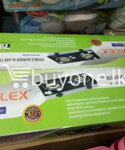 amilex primier quality double burner glass top gas stove home and kitchen special best offer buy one lk sri lanka 99450 247x296 - Amilex Primier quality Double Burner Glass Top Gas Stove