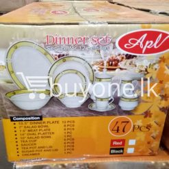 apl 47pcs dinner set service for 12 persons home and kitchen special best offer buy one lk sri lanka 99526 247x247 - APL 47pcs Dinner Set Service for 12 Persons